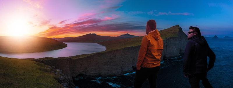 Bild von Marco und Felix auf den Färöer Inseln