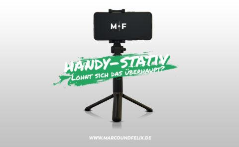 Stativ für das Handy, lohnt sich der Kauf oder ist es eine Geldverschwendung. Marco und Felix haben das Gerät getestet und berichten über ihre Erfahrungen.