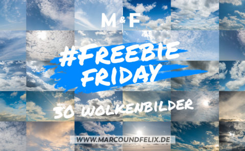 30 Wolkenbilder zum Download. Freebie Friday bei Marco und Felix
